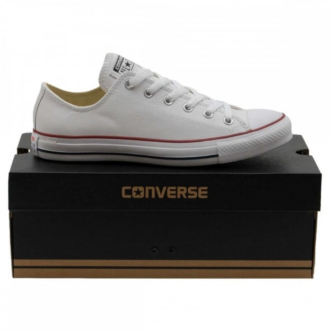 Converse Chuck Taylor All Star Ox Leather White