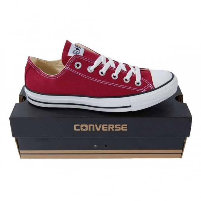 93368374c15d Converse Chuck Taylor All Star Ox Maroon - Mens Clothing from Attic ...