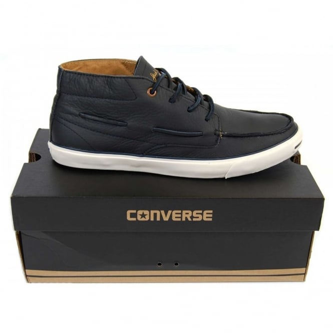 54f4ec1e89e9 Converse Jack Purcell Boat Navy - Mens Clothing from Attic Clothing UK