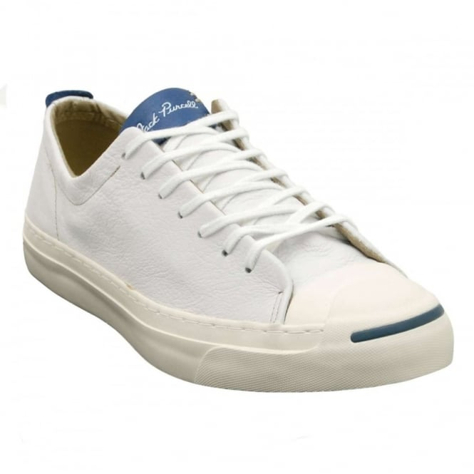 a2a3bdada3d7 Converse Jack Purcell Jack Leather White Egret - Mens Clothing from ...