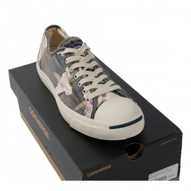 90b092f23eab Converse Jack Purcell LTT Floral Dark Navy - Mens Clothing from ...