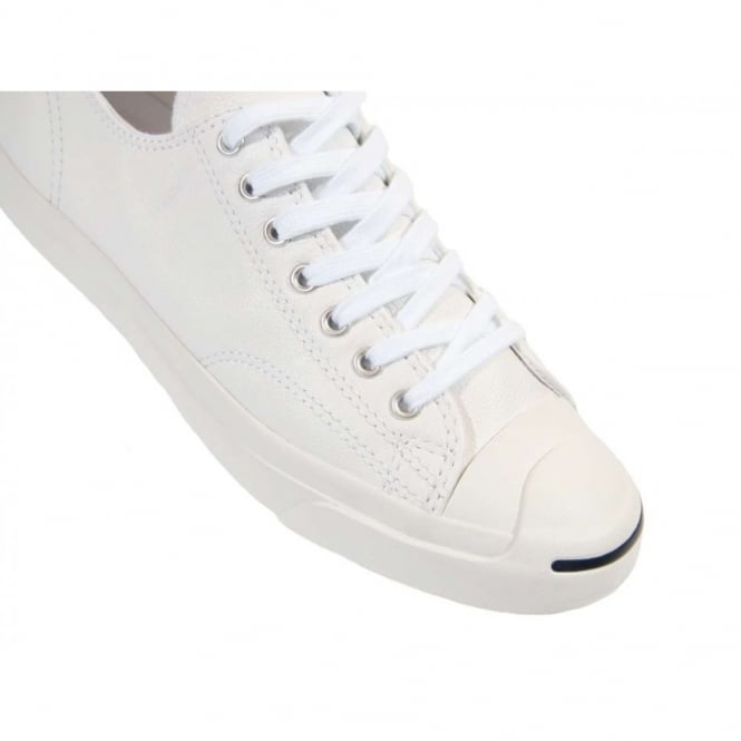 cc04a0b67bf7 Converse Jack Purcell LTT Leather Ox White - Mens Clothing from ...