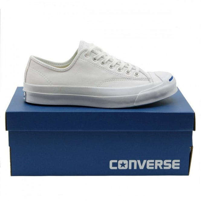 933f1547cc57 Converse Jack Purcell Signature Goat Leather White - Mens Clothing ...