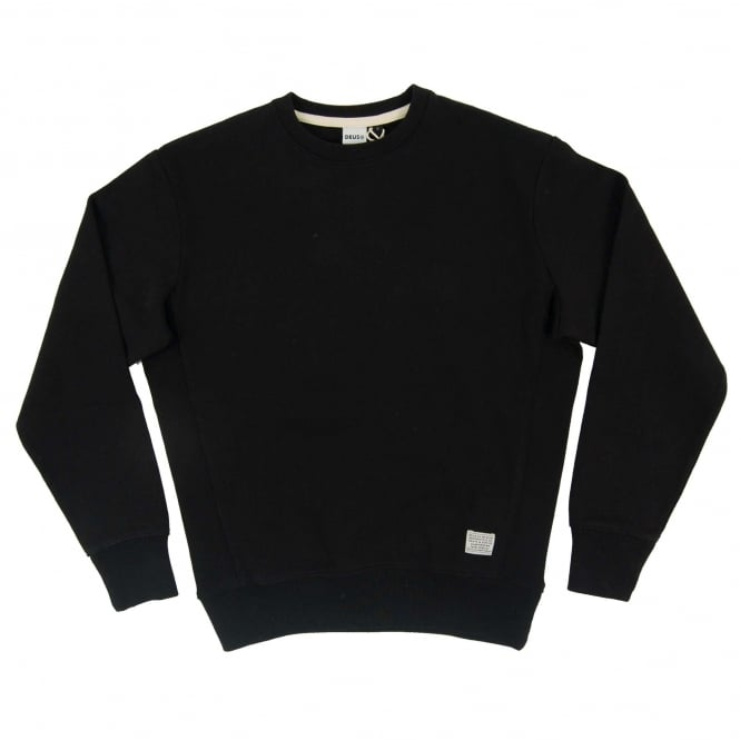 Deus Ex Machina Conner Crew Sweatshirt Black