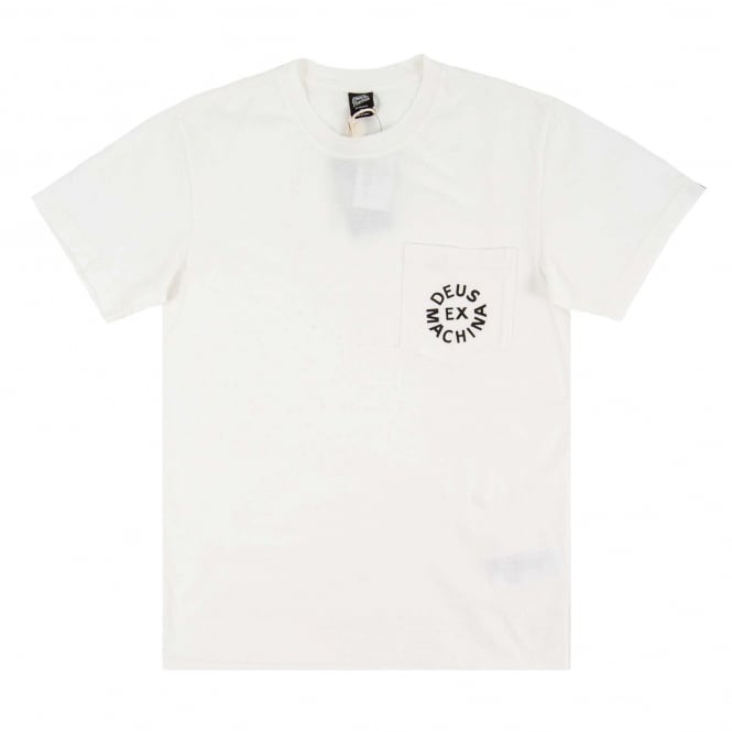 Deus Ex Machina Deus Logo T-Shirt White