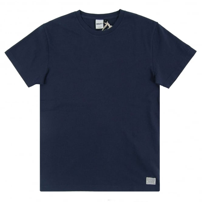 Deus Ex Machina New Standard T-Shirt Navy