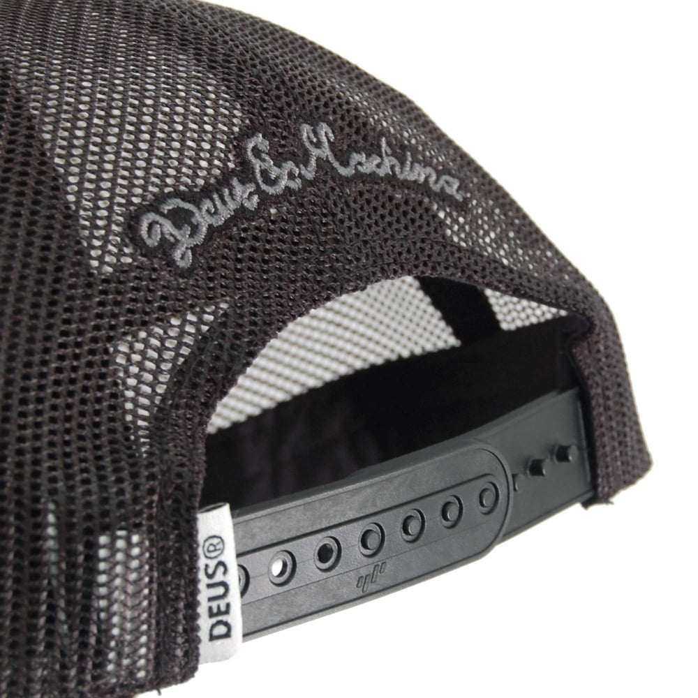Home · Mens Clothing · Mens Accessories  Deus Ex Machina Pill Trucker Cap  Black. Tap image to zoom. Pill Trucker Cap Black edc25ab5b451