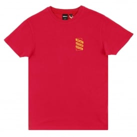 Shelter T-Shirt Rich Red