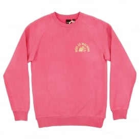 Sunbleached Enthusiasm Crew Sweat Rose Yellow