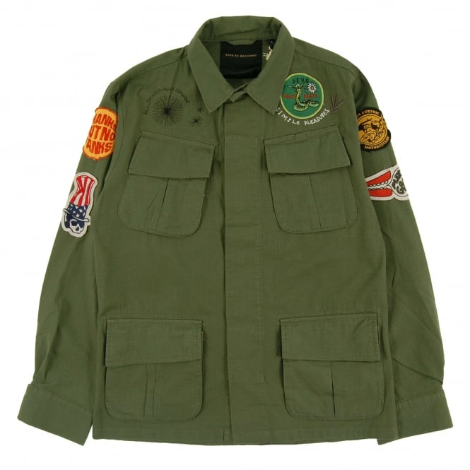 Deus Ex Machina Travis Overshirt Military Green