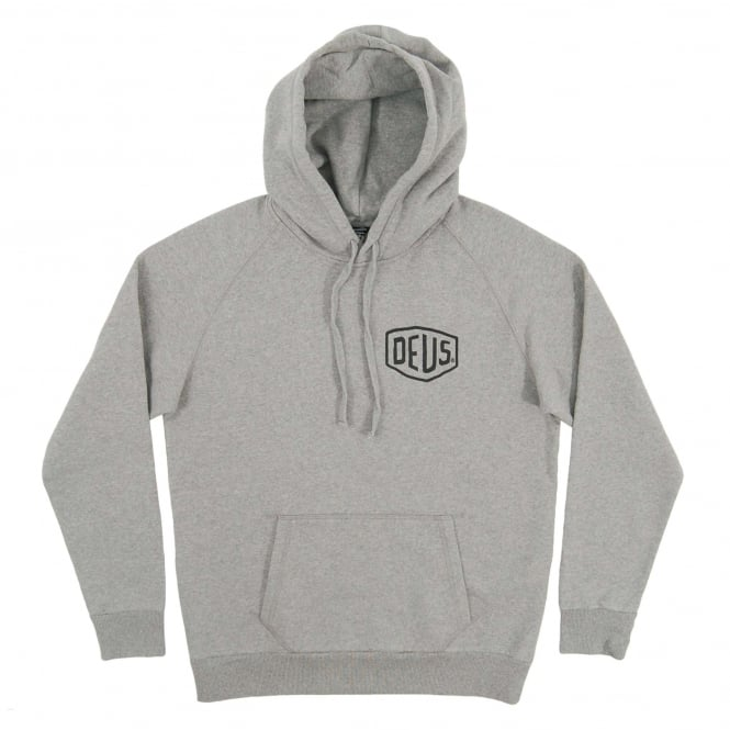Deus Ex Machina Venice CA Address Hoodie Grey Marle