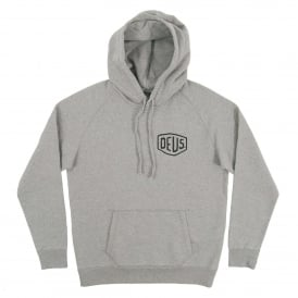 Venice CA Address Hoodie Grey Marle