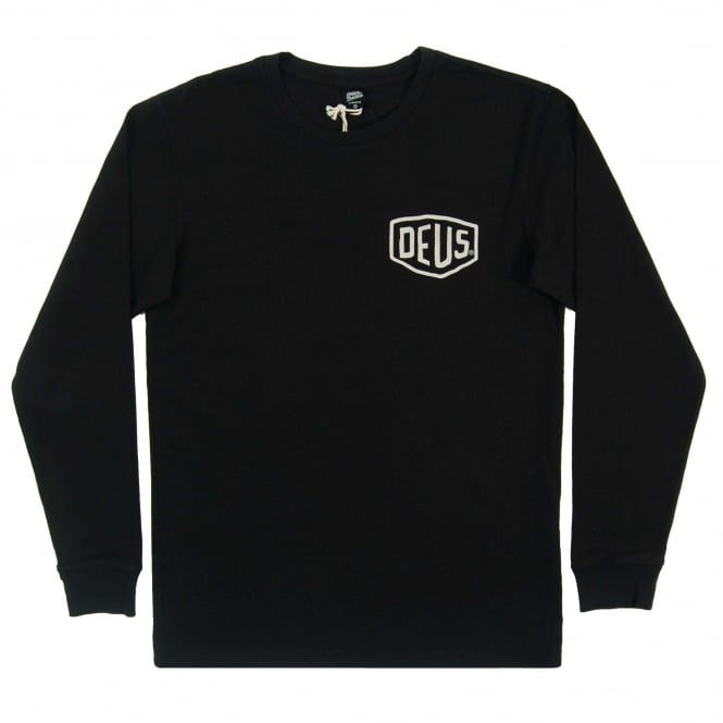 Deus Ex Machina Venice CA LS T-Shirt Black