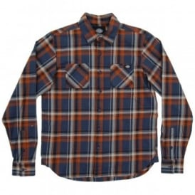 Atwood Check Shirt Air Force Blue
