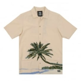 Hawaiian Gardens Shirt Ecru
