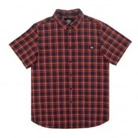 Vinton Check Shirt Orange