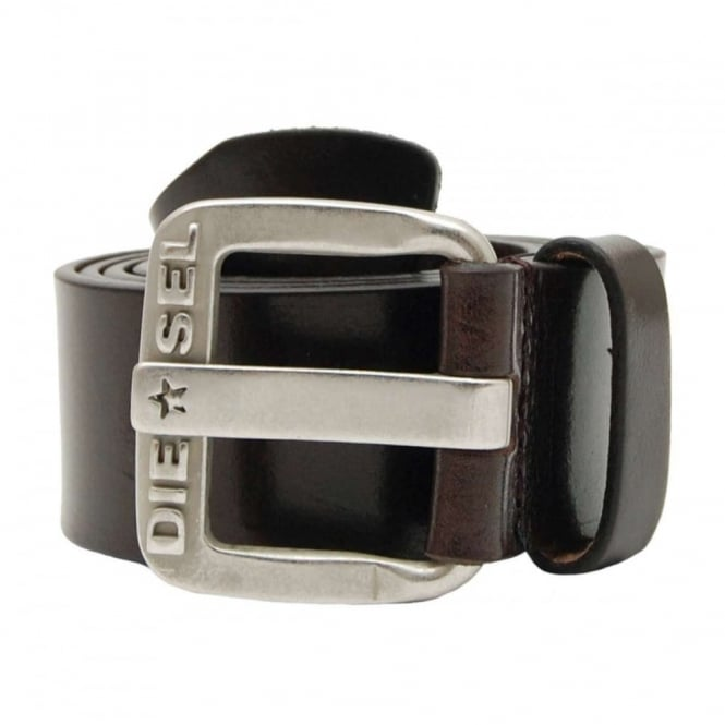 Diesel B-Star Belt Coffee Bean
