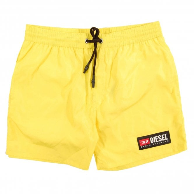e2256dc7ad175 Diesel BMBX-Wave-2.017 Swim Shorts Yellow - Mens Clothing from Attic ...