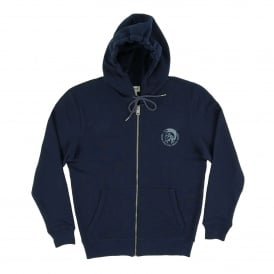 Brandon Zip Hoody Navy Navy