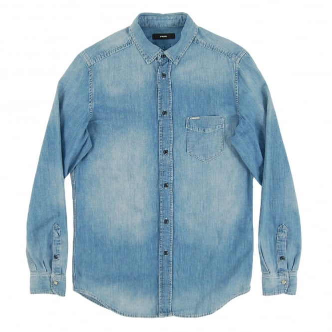 Diesel D-Carry Chambray Shirt