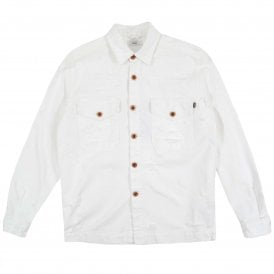 D-Elov Denim Jacket White