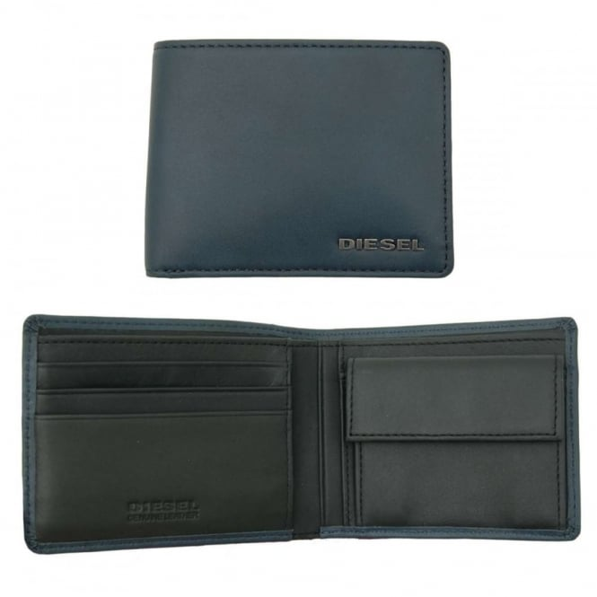Diesel Hiresh XS Wallet India Ink Anthracite