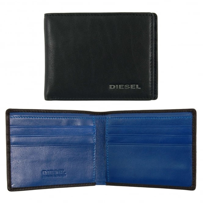 Diesel Neela XS Wallet Black Nautical Blue