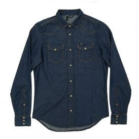 New-Senora-E Denim Shirt Rinse