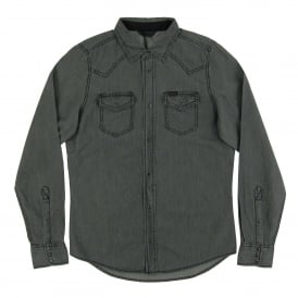 New-Sonora-E Denim Shirt Grey