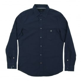 S-Jimmys Dot Shirt Navy