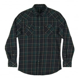 S-Sulfeden Check Shirt Green