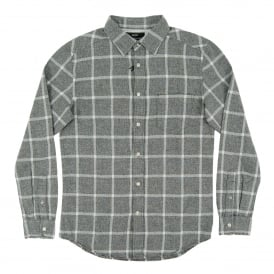 S-Tas Check Shirt White