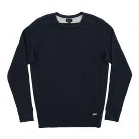 S-Willard Rib Sweat Navy