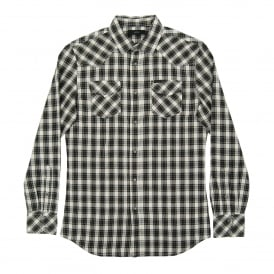 S-Zule Check Shirt Black