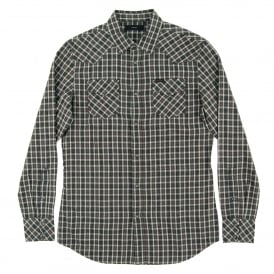 S-Zule Check Shirt Charcoal