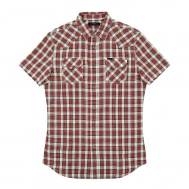 S-Zule SS Check Shirt Red