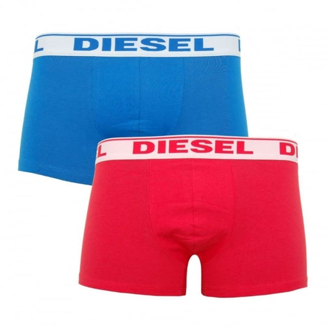 Diesel Shawn 2 Pack Boxers Blue Red