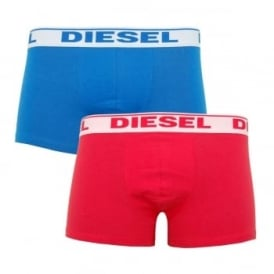Shawn 2 Pack Boxers Blue Red