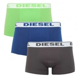 Shawn 3 Pack Boxers Black Green Navy