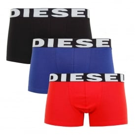 Shawn 3 Pack Boxers Black Purple Red