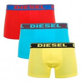 Shawn 3 Pack Boxers Yellow Turquoise Red