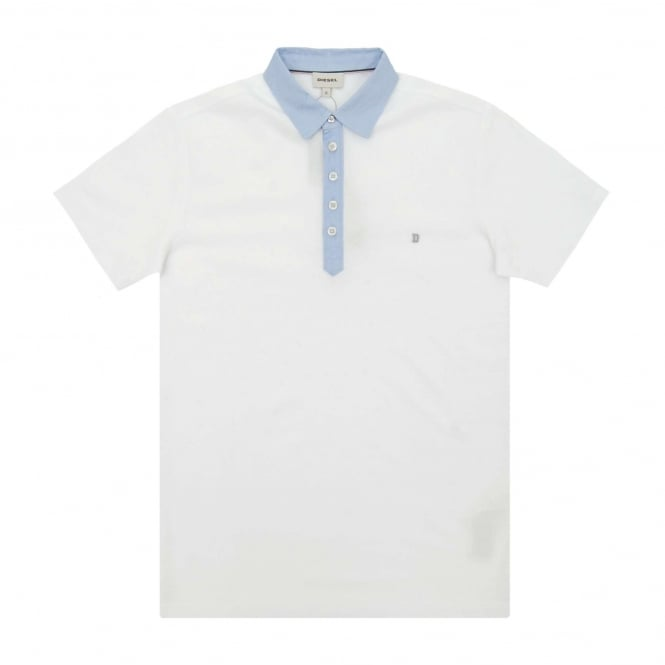 Diesel T-Angier Polo White