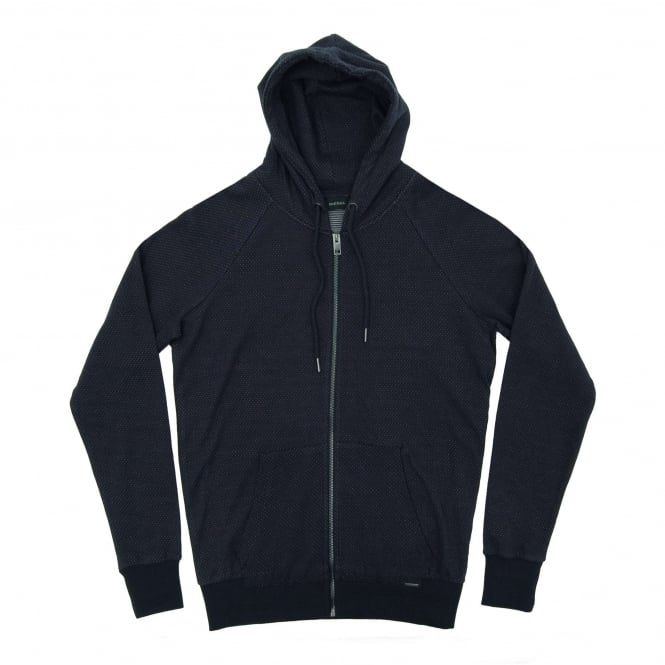 Diesel T-Blow Dot Zip Hoody Navy
