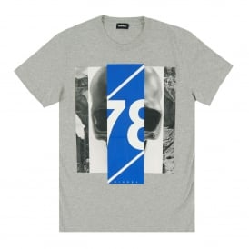 T-Diego-FT T-Shirt Marl Grey