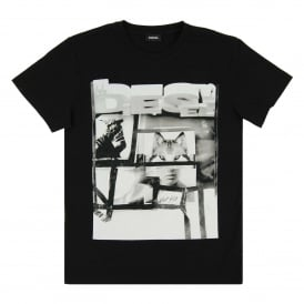 T-Diego-HF T-Shirt Black