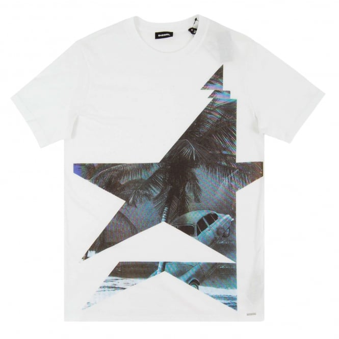 Diesel T-Joe-MN T-Shirt White
