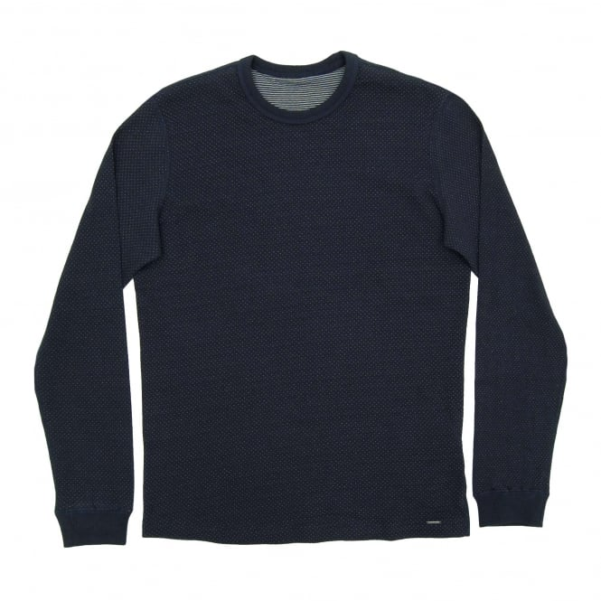 Diesel T-Raf Dot Sweat Navy