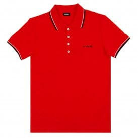 T-Randy-Broken Polo Red