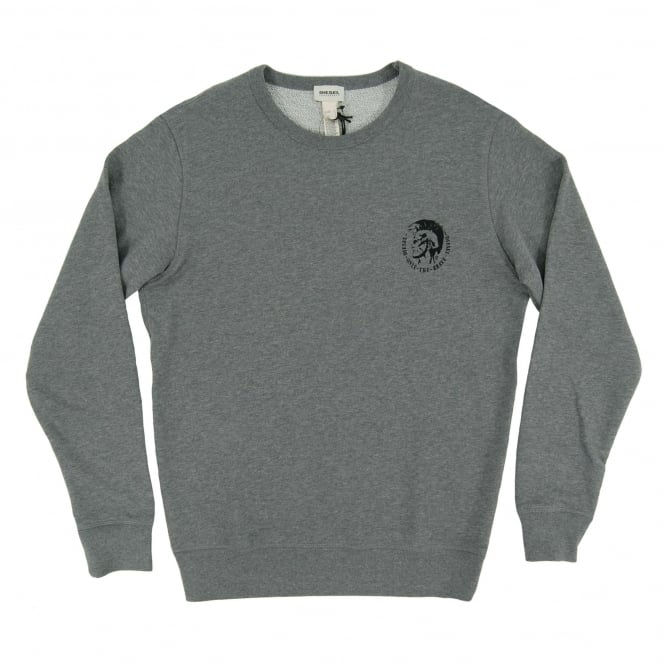 Diesel Willy Sweatshirt Marl Grey