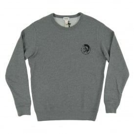 Willy Sweatshirt Marl Grey